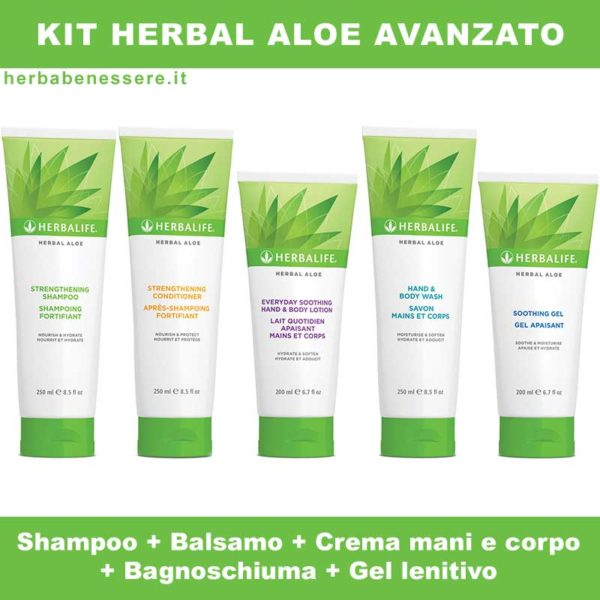 kit herbal aloe herbalife avanzato
