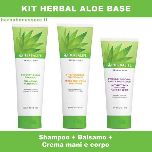 kit herbal aloe herbalife base