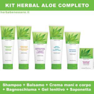 kit herbal aloe herbalife completo