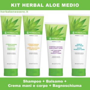 kit herbal aloe herbalife medio