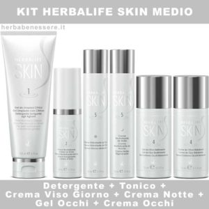 kit herbalife skin medio