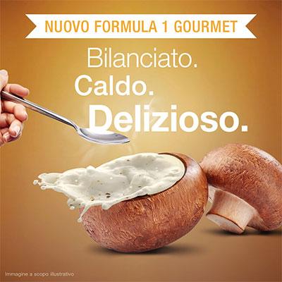 formula 1 gourmet herbalife gusto crema di funghi 092k