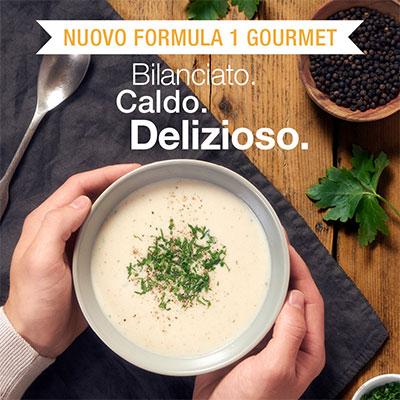 formula 1 gourmet herbalife gusto crema di funghi bilanciato caldo delizioso